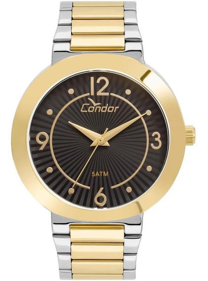Relógio Feminino Condor Analógico Co6p29iu/k4d Misto