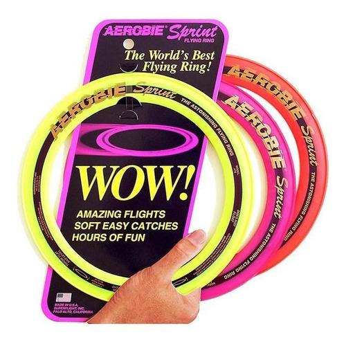 Aro Frisbee Sprint Ring Aerobie 10r24/10t24 - Cores Variadas