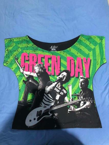 Camiseta Green Day Feminina
