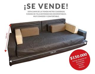 Sofa Cama Con Fundas Desmontables