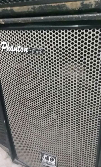 Par De Caixa De Som Meteoro Phantom F3. 300w