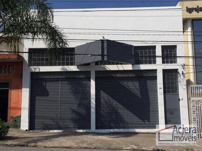 Loja Comercial Para Locação, Utinga, Santo André. - Lo0025