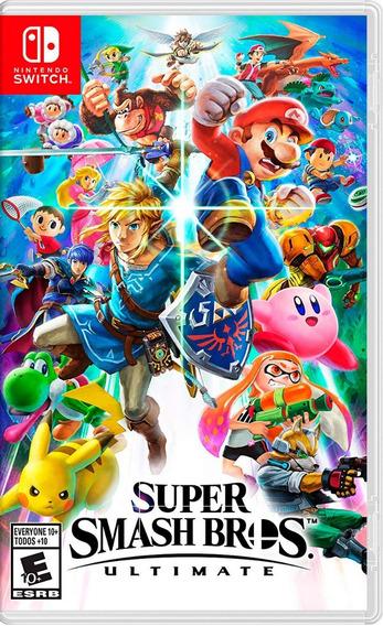 Super Smash Bros Ultimate En Switch Nuevo Y Sellado