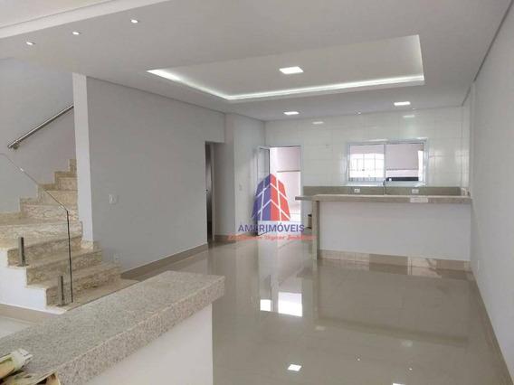 Sobrado Com 3 Dormitórios À Venda, 184 M² Por R$ 625.000,00 - Residencial Jacira - Americana/sp - So0126