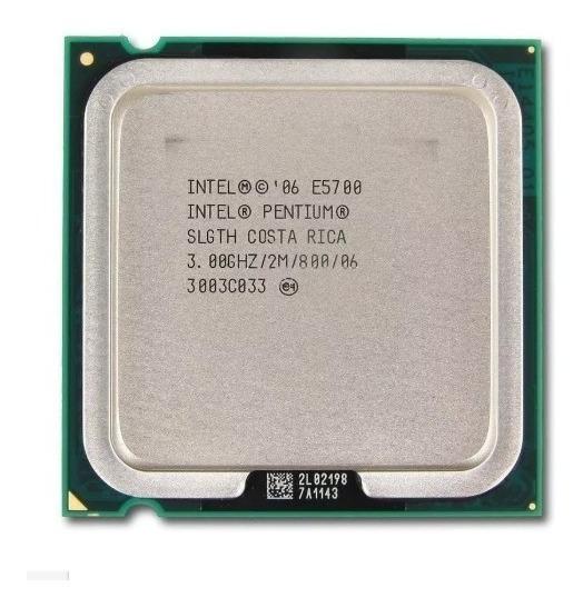Processador Intel Pentium E5700 Usado Com Cooler