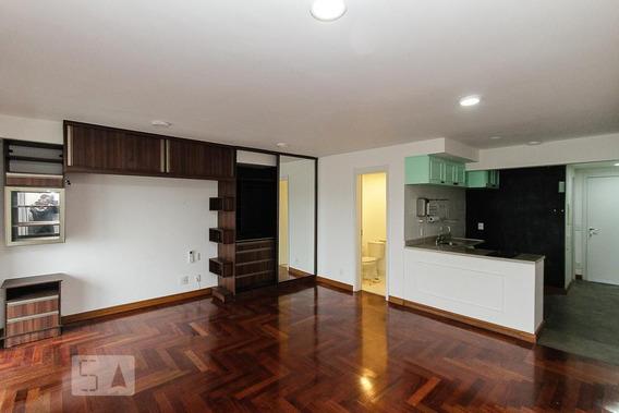 Studio No 9º Andar Com 1 Dormitório E 1 Garagem - Id: 892958939 - 258939