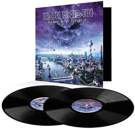 Lp Iron Maiden Brave New World 180g X Factor Capa Grátis !!!