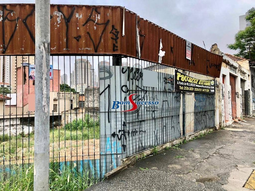Imagem 1 de 11 de Terreno, 350 M² - Venda Por R$ 2.500.000,00 Ou Aluguel Por R$ 10.000,00/mês - Jardim Anália Franco - São Paulo/sp - Te0284