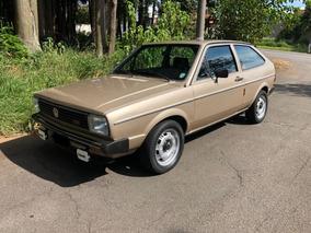Volkswagen Gol Ls 1983 Placa Preta