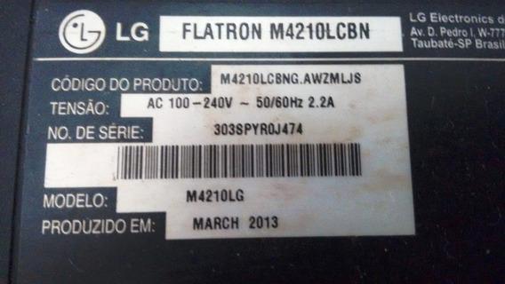Tv LG M4210lcbn - Retirada De Peças E Cabos