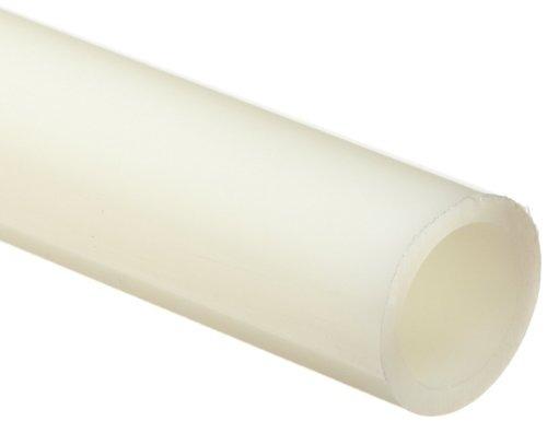 Translúcida Blanca De Nylon 101 Tubería Redonda, 1/4 De Diá