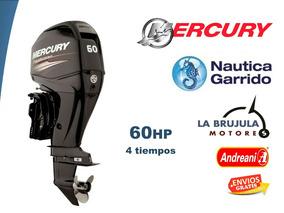 Mercury 60 Hp 4t Elpt Nautica Garrido - La Brujula Motores