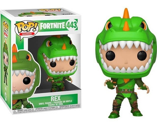 Funko Pop Figura Fortnite Rex Int 34957 Original Wabro