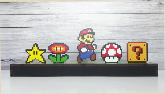 Adorno Mario Bros, Pixel