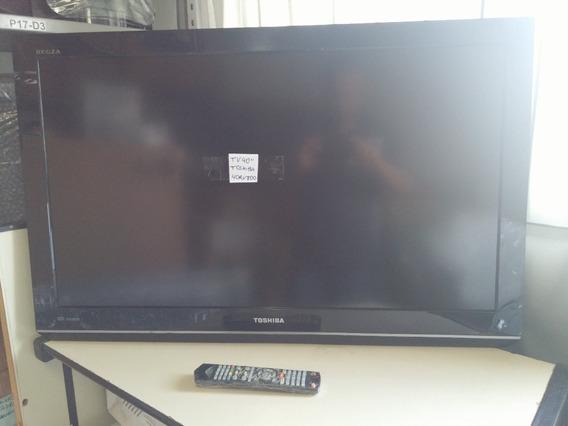 Tv Lcd Toshiba 40rv800 Usada, Nao Sintoniza Canais.