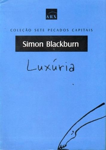 Imagem 1 de 1 de Livro Luxuria De Simon Blackburn