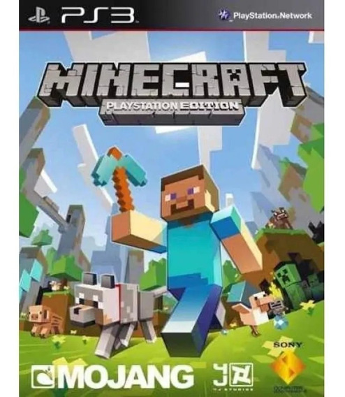 Ps3 Minecraft Português Psn Jogo Comprar
