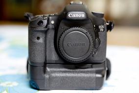 Canon 7d (corpo) + Grip (original)