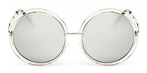 Óculos De Sol Feminino Grande Importado Espelhado Uv400