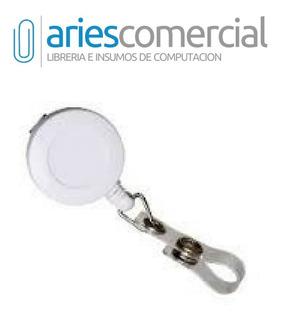 Porta Credencial Extensible-retractil Yo-yo X 5 Unidades