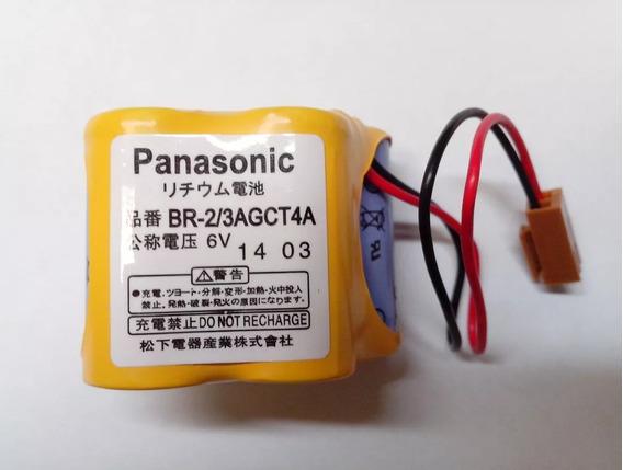 02 Baterias P/ Cnc Fanuc Panasonic Br-2/3agct4a - Original