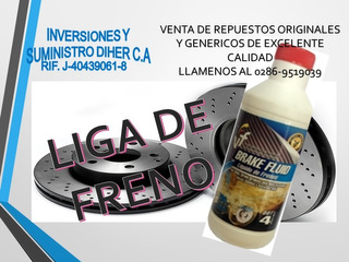Liga De Freno Vf Brake Fluid Dot4 290 Cm3