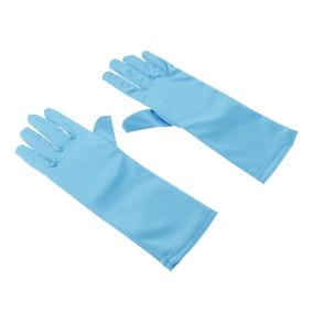 Kids Formal Stretch Nylon Long Finger Gloves For Girl Childr