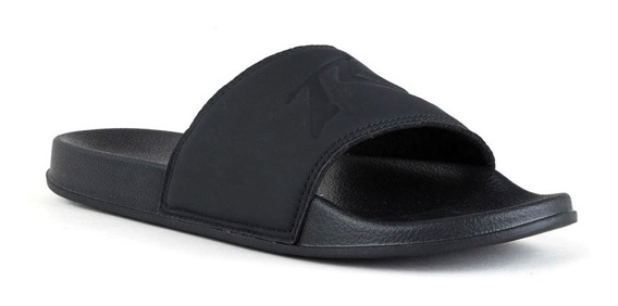 Ojotas Hombre Rusty Competion Black Steal Slide