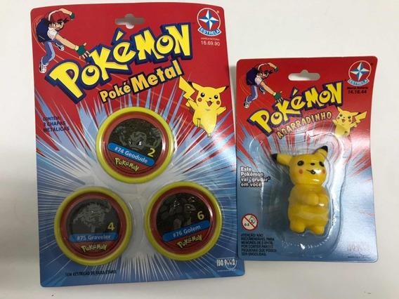 Brinquedo Pokémon Metal E Agarradinho Estrela
