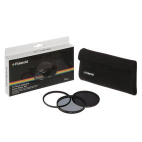 Kit De Filtro De Lente Polaroid 3 Peças Lente 58mm