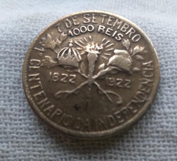 Moeda 1000 Reis 7 De Setembro Centenário Da Independência