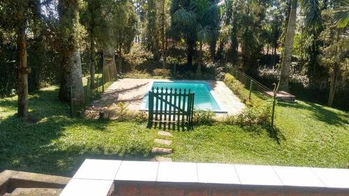Chácara Com 3 Dormitórios À Venda, 7300 M² Por R$ 990.000,00 - Jardim Das Garças - Santo André/sp - Ch0001
