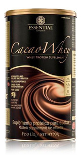 Cacao Whey Lata (900g) Chocolate Essential