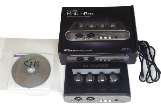 M Audio Fast Track Mobile Pre Estudio Interface De Audio