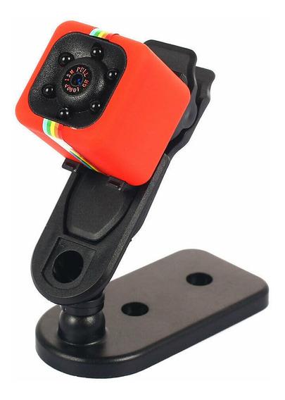 Sq11 Mini Câmera Vermelha
