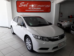 Honda Civic 1.8 Lxl 16v Flex 4p Manual 2012 Branca