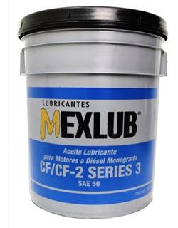 Cubeta De Aceite Para Motor Sae-50 Mexlub (envio Gratis)