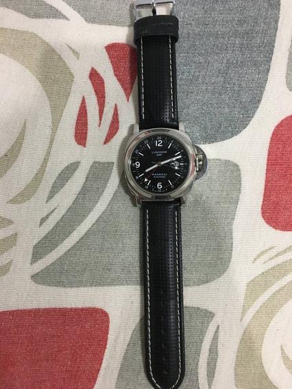 Relógio De Luxo Panerai Luminor Perfeito Estado 12x S/juros