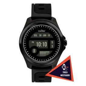 Relógio Condor Troca Mostrador Preto Cokw05caa/8p Novo!