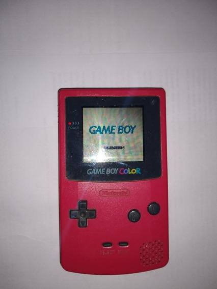Game Boy Color Rosa Vermelho