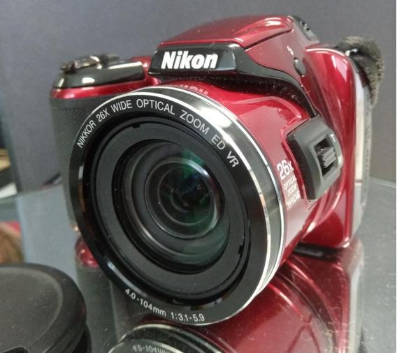 Câmera Digital Nikon L810 Completa