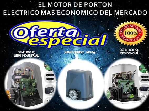 Kit Motor De Porton Electrico 400, 600 Y 800 Kg.