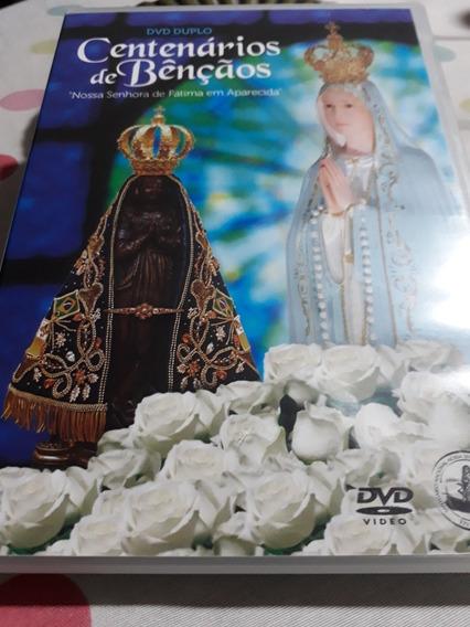 Dvd Centenarios De Bençãos Nossa Senhora Fatima Tv Aparecida