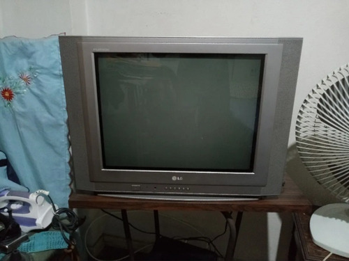 Tv LG 21  - Flatron 21fx5rl - Tela Plana