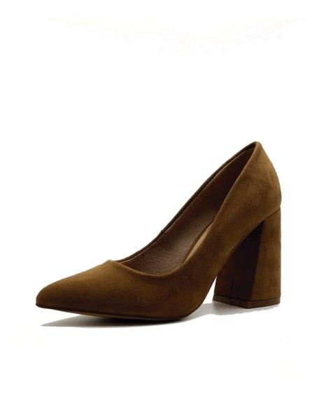 Zapato Stilleto Mujer Cuero Pu Oficina Suela Leblu Z127