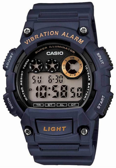 Relógio Casio Masculino W-735h-2avdf