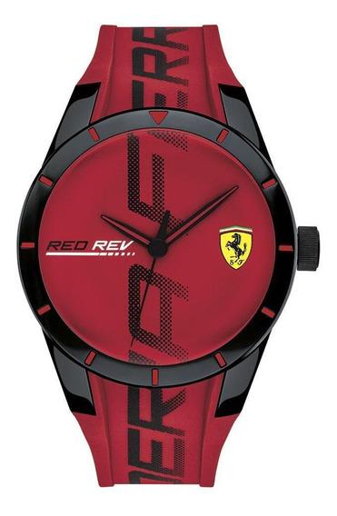 Reloj Ferrari Caballero Color Rojo 0830617 - S007
