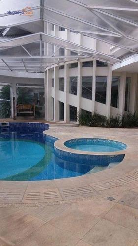 Imagem 1 de 30 de Sobrado Com 5 Dormitórios À Venda, 665 M² Por R$ 3.500.000,00 - Jardim Aquarius - São José Dos Campos/sp - So0724