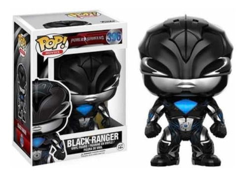 Power Rangers Funko Pop Black Ranger 396 Original