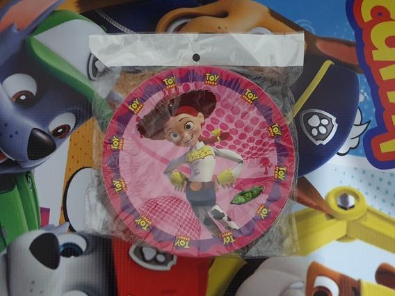 Plato Vaquerita Jessie Toy Story 10 Platos Desechable Pastel